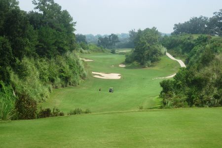 Overview of golf course named Brooksville Quarry Golf Course