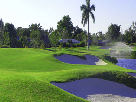 Overview of golf course named Davie Golf and Country Club