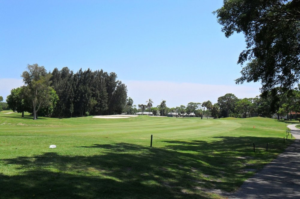 Overview of golf course named Delray Beach Golf Club