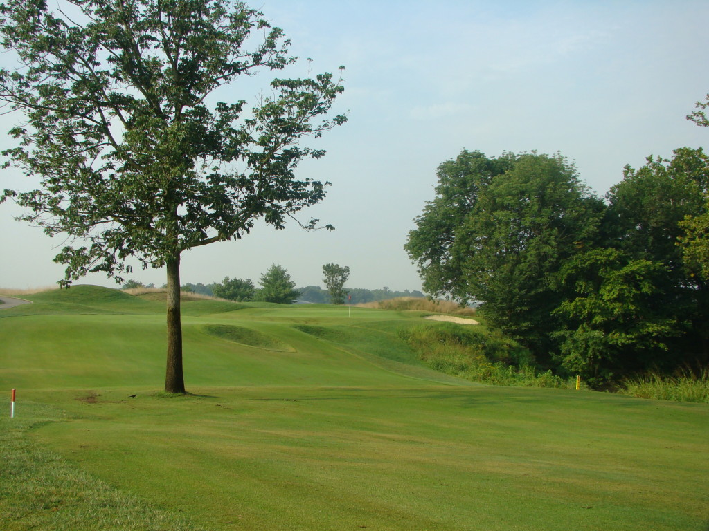 Overview of golf course named Hidden Creek Golf Club
