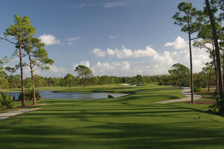 Overview of golf course named Hobe Sound Golf Club