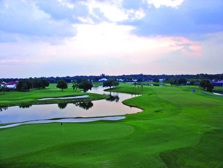 Overview of golf course named River Wilderness Golf and Country Club