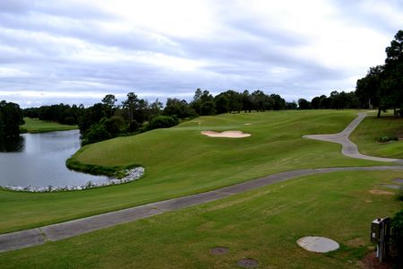 Overview of golf course named Rocky Bayou Country Club