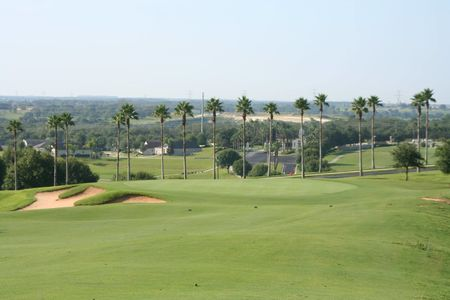 Overview of golf course named Sanctuary Ridge Golf Club
