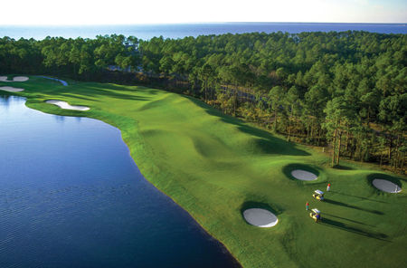 Overview of golf course named Sandestin Golf and Beach Resort