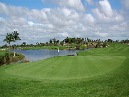 Overview of golf course named Golf Hammock Country Club