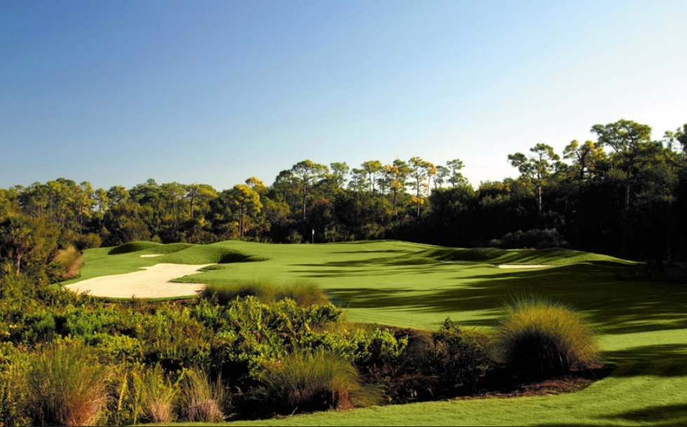 Overview of golf course named Collier's Reserve Country Club