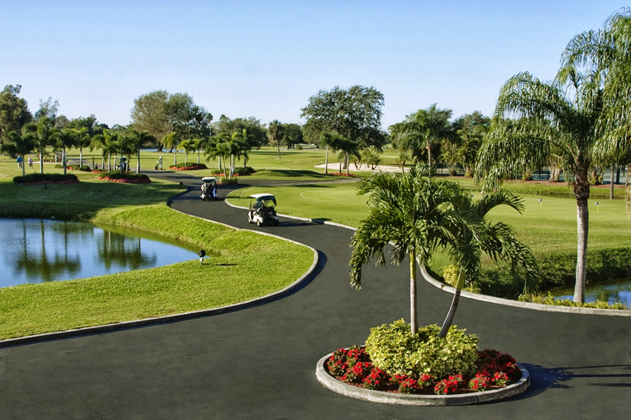 Overview of golf course named Country Club of Coral Springs