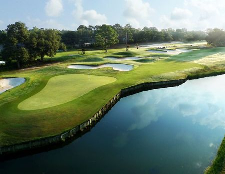 Overview of golf course named Shalimar Pointe Golf and Country Club