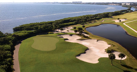 Overview of golf course named Longboat Key Club and Resort