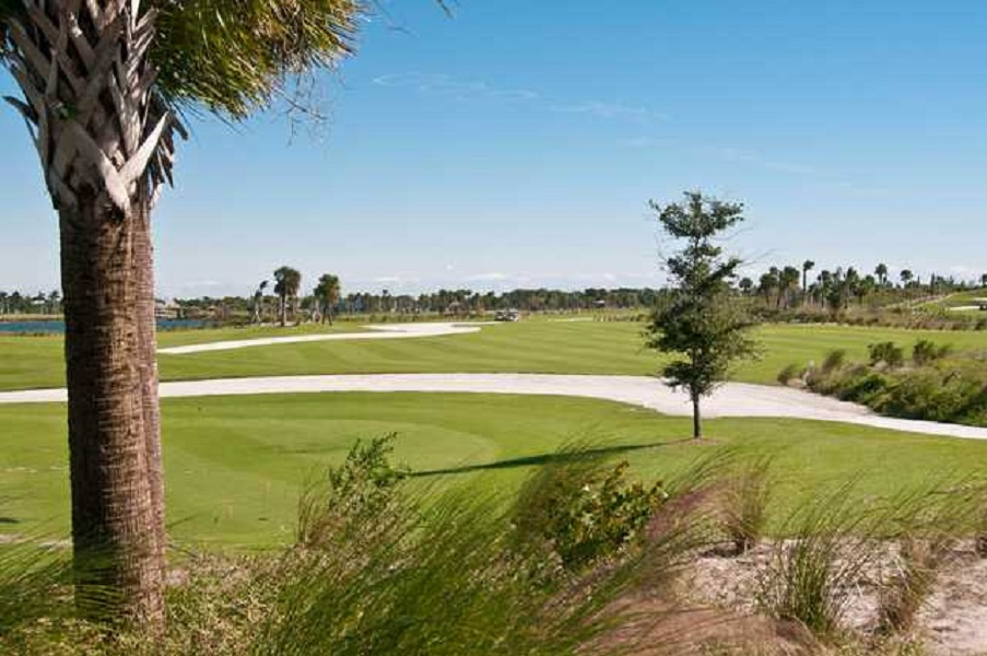 Overview of golf course named Osprey Point Golf Club