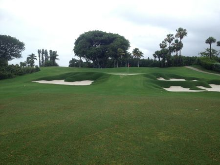 Overview of golf course named Palm Beach Country Club