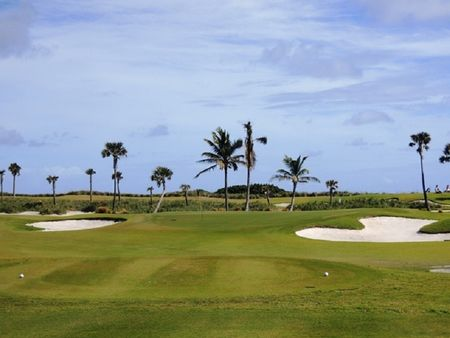 Overview of golf course named Palm Beach Golf Course