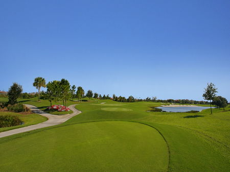 Overview of golf course named Pelican Pointe Golf and Country Club