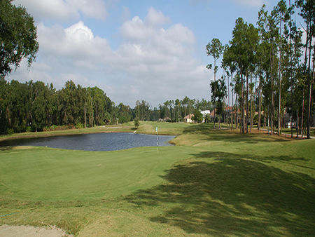 Overview of golf course named Magnolia Plantation Golf Club
