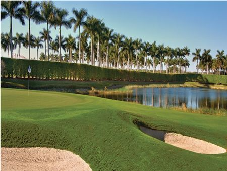 Overview of golf course named Miromar Lakes Golf Club