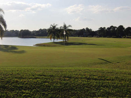 Overview of golf course named Spruce Creek Country Club