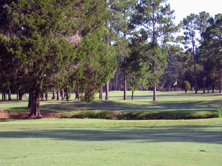 Overview of golf course named Starke Country Club