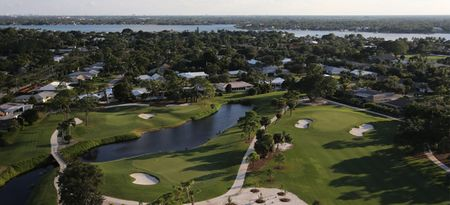 Overview of golf course named Tequesta Country Club