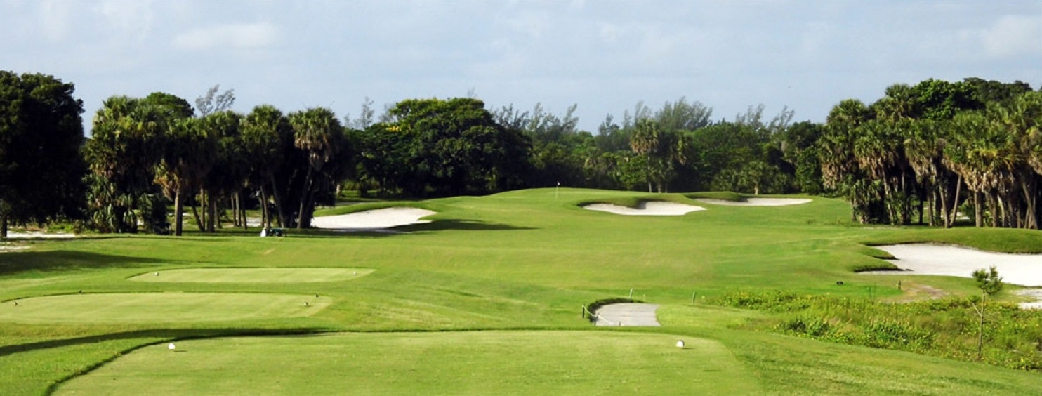 Overview of golf course named West Palm Beach Golf Course