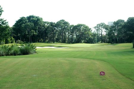 Overview of golf course named The Club Pelican Bay