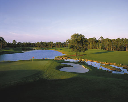 Overview of golf course named Naples Grande Golf Club