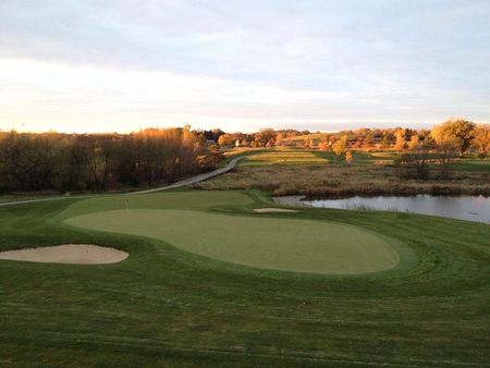 Overview of golf course named Oak Run Country Club
