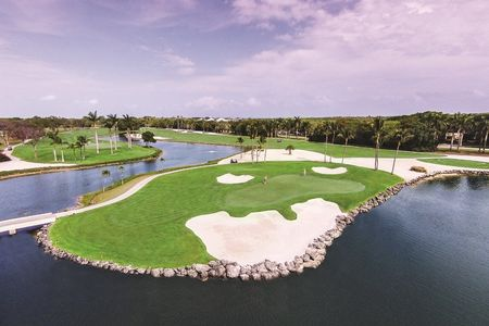 Overview of golf course named Ocean Reef Club