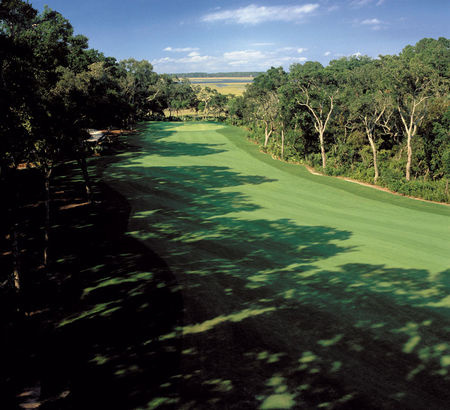 Overview of golf course named The Palencia Club