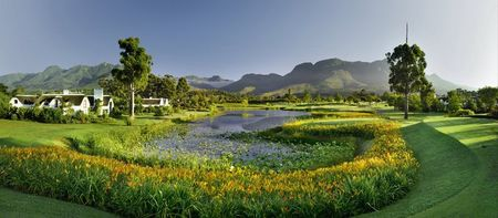 Overview of golf course named Outeniqua at Fancourt