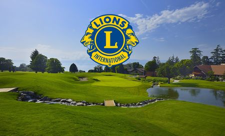 Cover of golf event named Trophée du Lions Club