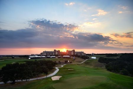 Overview of golf course named TPC San Antonio
