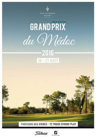 Cover of golf event named GRAND PRIX DU MEDOC 2016
