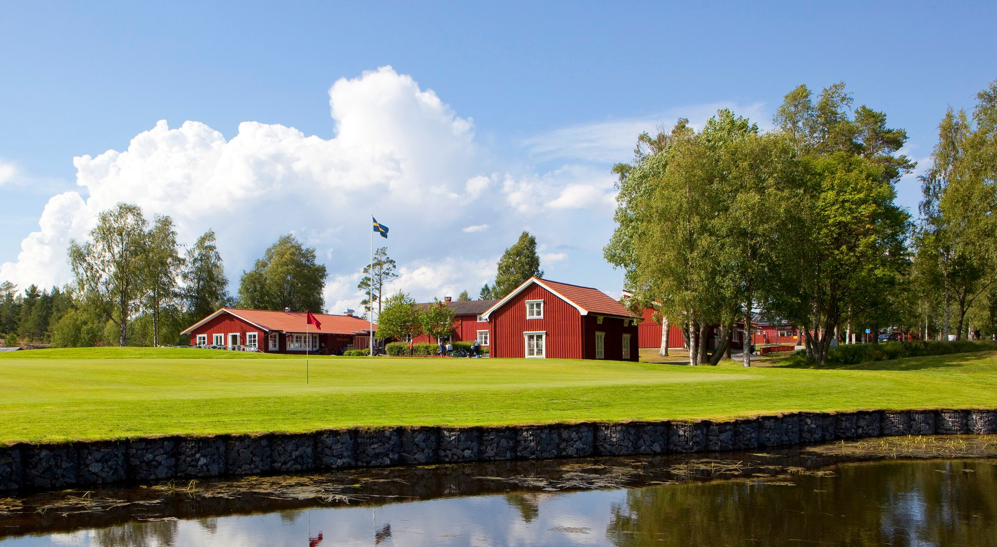 Overview of golf course named Umea Golfklubb