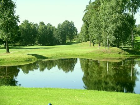 Overview of golf course named Taby Golfklubb