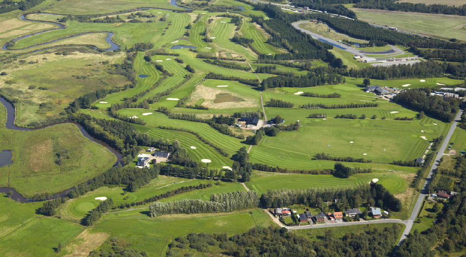 Overview of golf course named Varde Golf Club