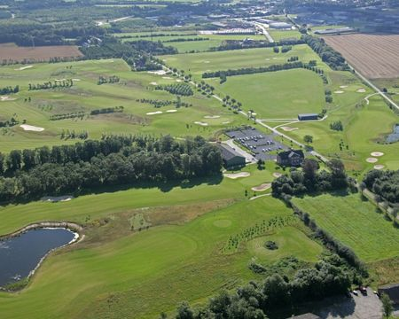 Overview of golf course named Aars Golf Club