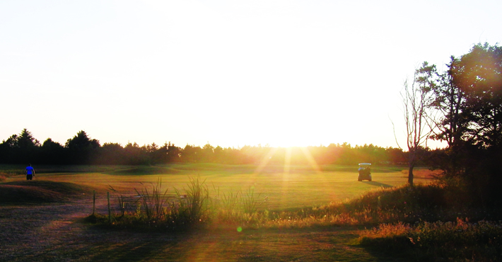 Overview of golf course named Blokhus Golf Center