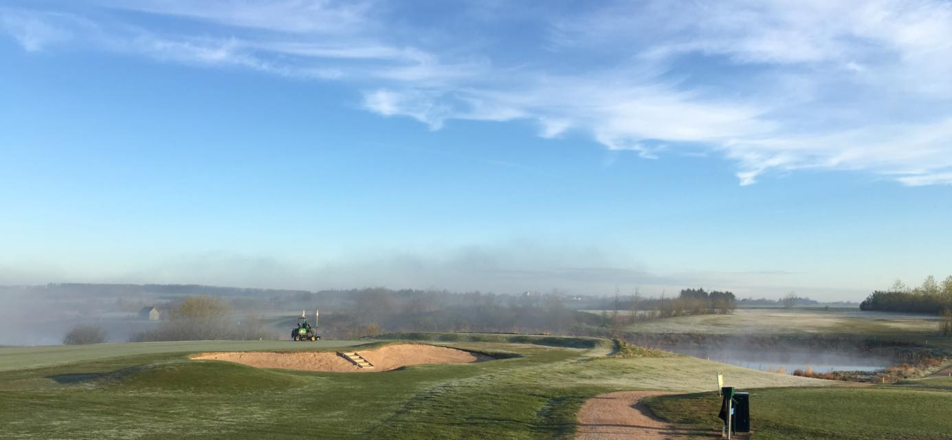 Overview of golf course named Broenderslev Golf Club