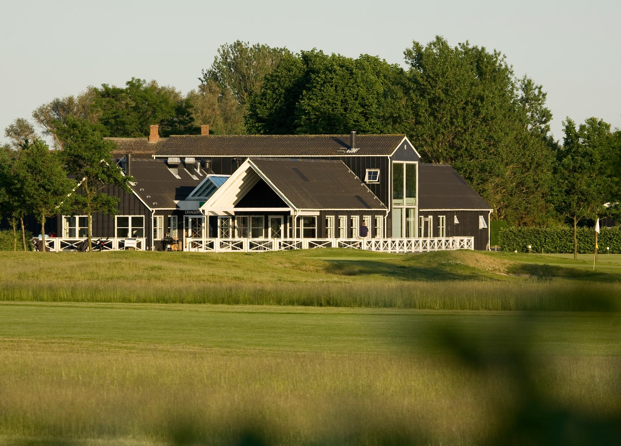 Overview of golf course named Dragoer Golf Club