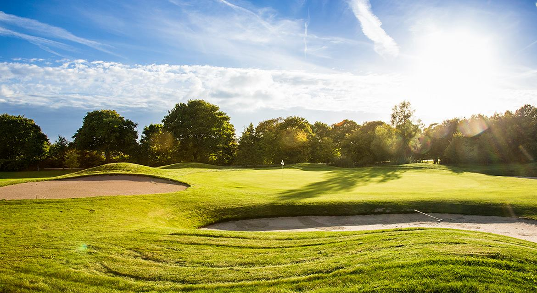 Overview of golf course named Golfklubben Storstrommen