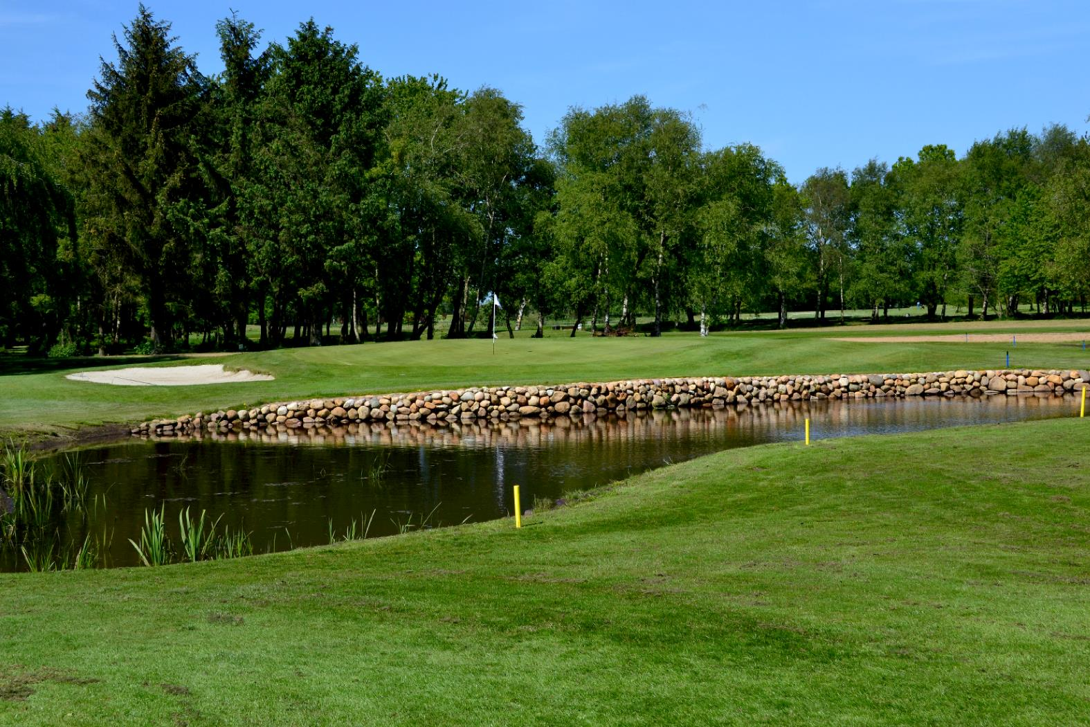 Overview of golf course named Herning Golf Club