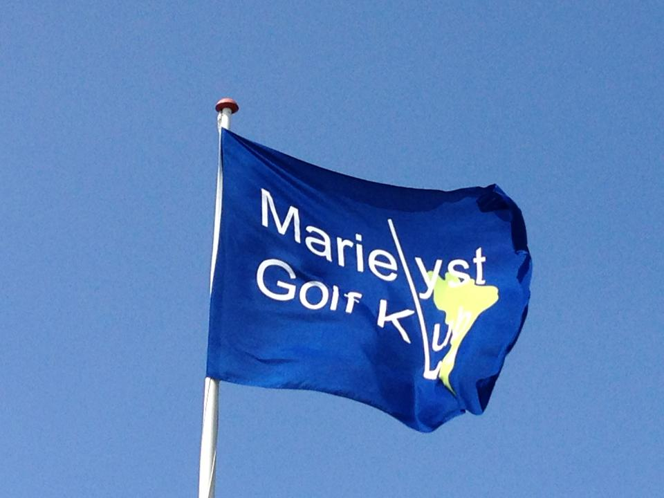 Overview of golf course named Marielyst Golf Club