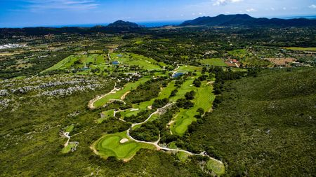 Overview of golf course named Capdepera Golf
