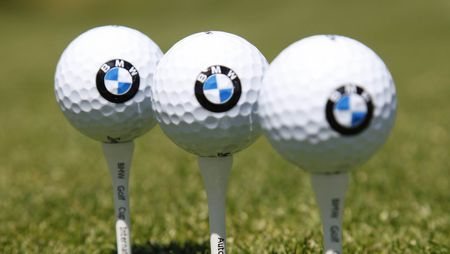 Cover of golf event named BMW Golf Cup