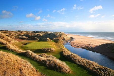 Overview of golf course named Trump International Golf Links
