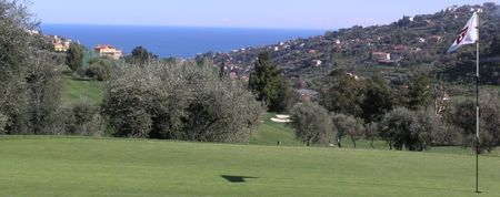 Overview of golf course named Circolo Golf Degli Ulivi Sanremo