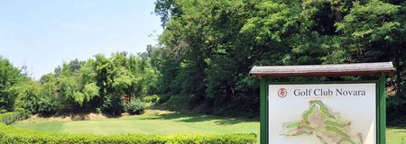 Overview of golf course named A. S. Golf Club Novara