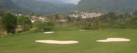 Overview of golf course named Tesino Golf Club La Farfalla