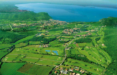 Overview of golf course named Ca Degli Ulivi Golf Club